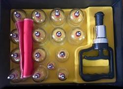 Vacuum pump cup set